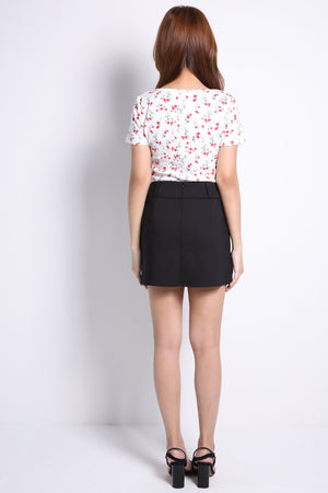 Double Buckle Skirt 9233