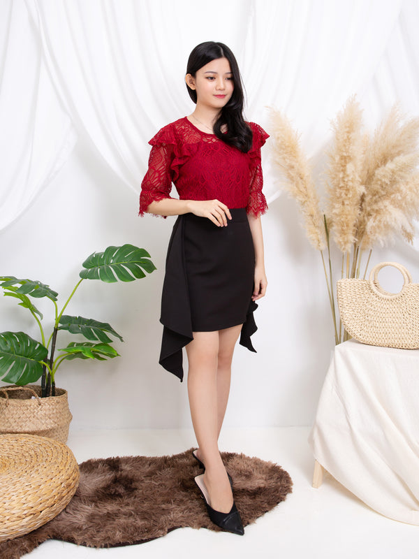 Layered Sleeve Top 11279