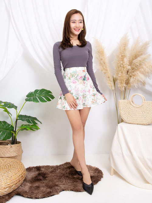 Crochet Flower Skirt 11218