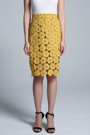Flower Skirt 1661 - ample-couture