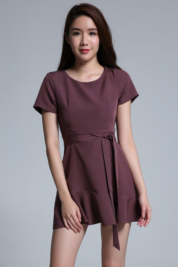 Plain Playsuit 1687 - Ample Couture