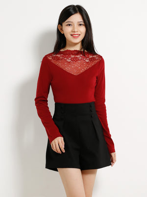 Turtleneck Top 13101
