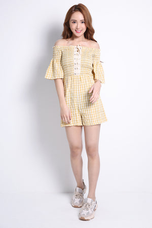 Checker Playsuit 9309