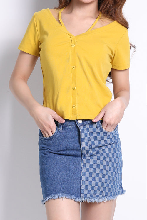 Front Button Top 9269