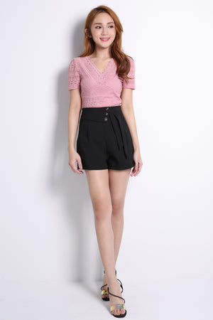 Button Short Pants 10584