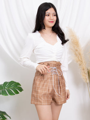 Checker Short Pants 11295