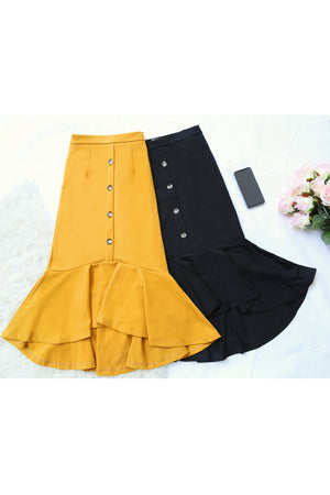 Button Skirt 1715