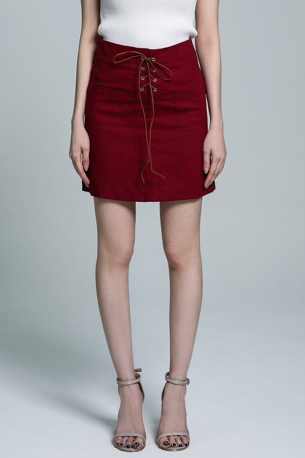 Crossover Skirt 1739 - Ample Couture