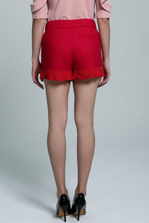 Pleated Short Pant 1808 - Ample Couture