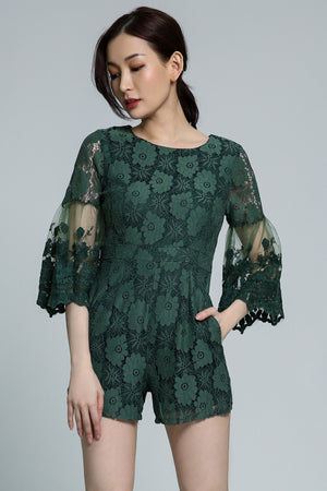 Lace Playsuit 1763