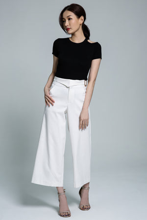 Fake Belt Long Pant 1773