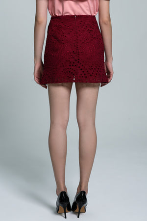 Crochet Skirt Pant 1822 - Ample Couture