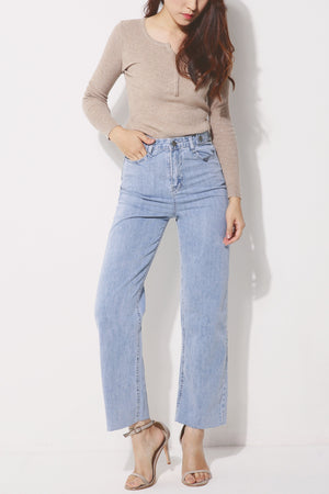 Straight Leg Jeans 4274 - ample-couture