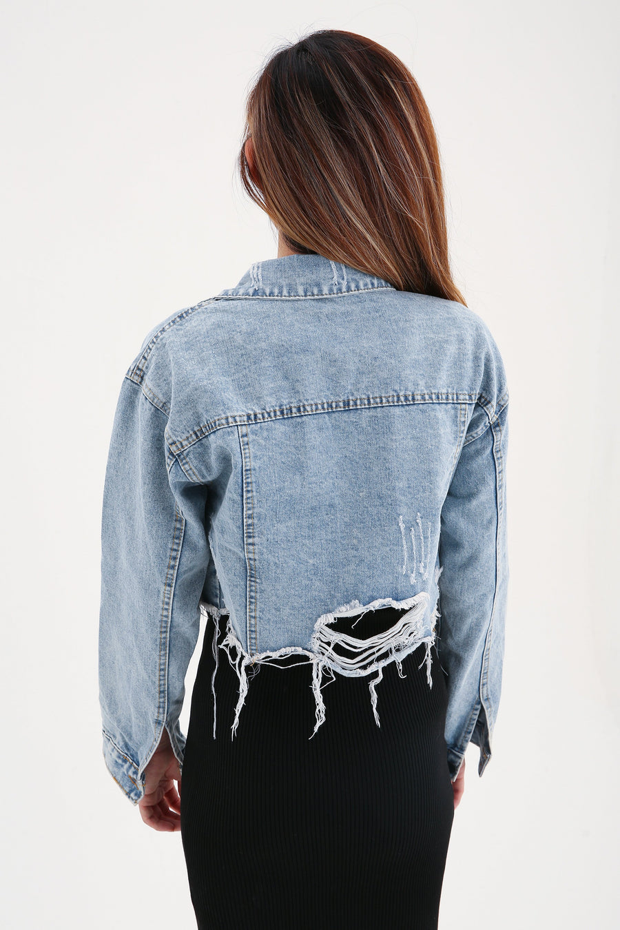 Denim Jacket 7841A Outerwear