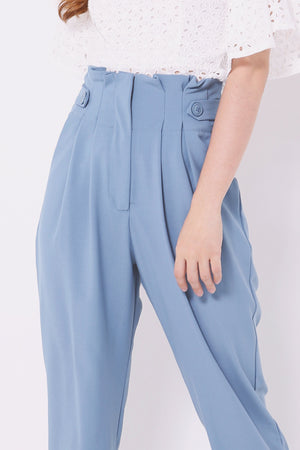 Pleated Pants 4583 - ample-couture