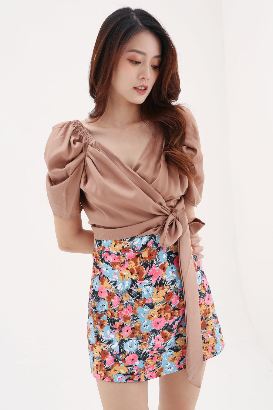 Flower Skirt 8166 Bottoms