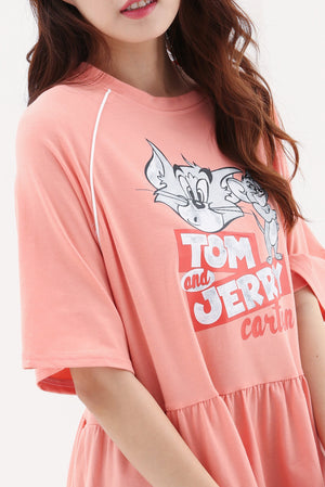 Tom Jerry Peplum Top 8241A Dresses