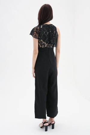 Lace Top Jumpsuit 8433