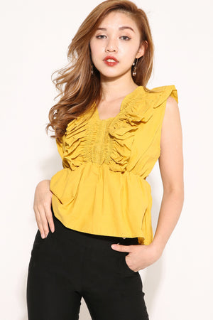 Peplum Top 4094 - ample-couture
