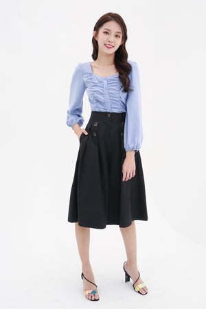 Ruched Top 8576