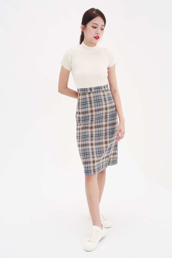 Checker Skirt 8556