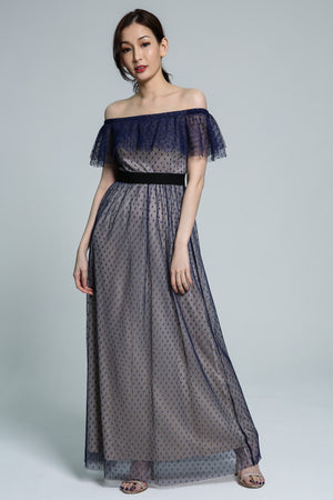 Polka Dot Dress 1799 - ample-couture