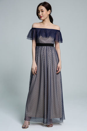 Polka Dot Dress 1799 - Ample Couture