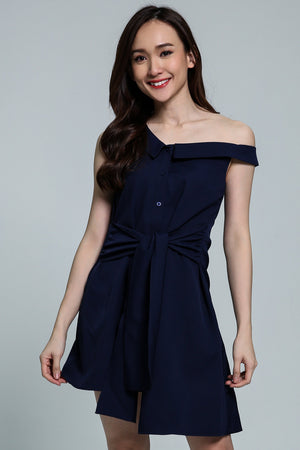 Side Off Shoulder Dress 1802