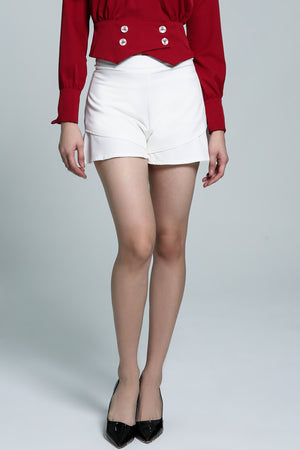 Plain Skirt Pant 1820 - ample-couture