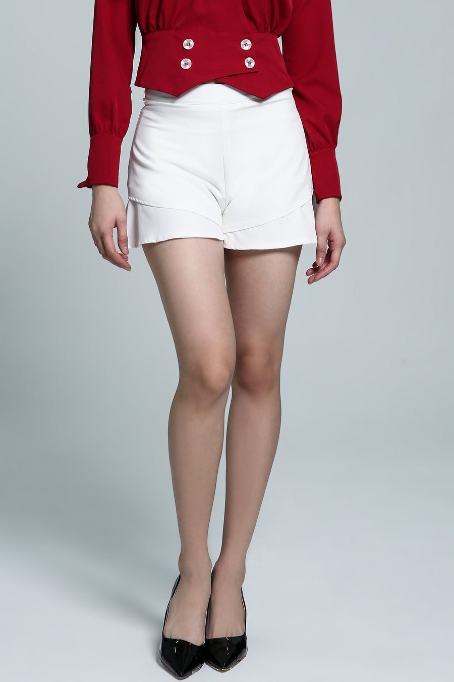 Plain Skirt Pant 1820 - Ample Couture