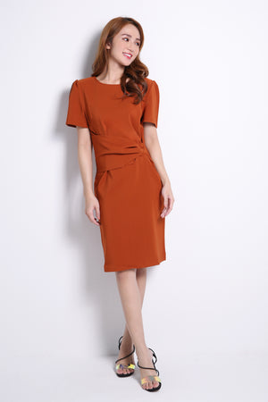 Belt Attached Dress 10640