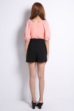 Plain Short Pants 10616