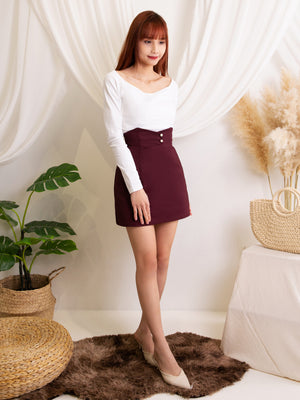 Decorative Button Skirt (Backorder)