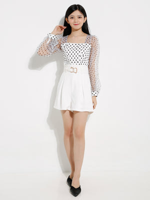 Polka Dot Top 12657