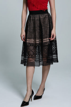 Lace Dress 1821 - ample-couture