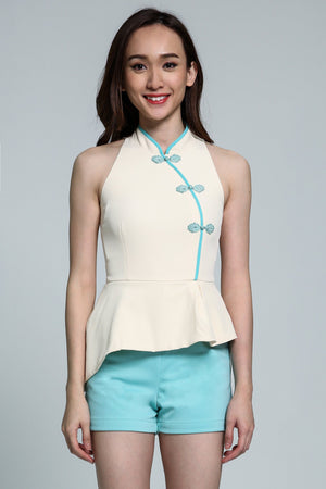 Cheongsam Playsuit 1818