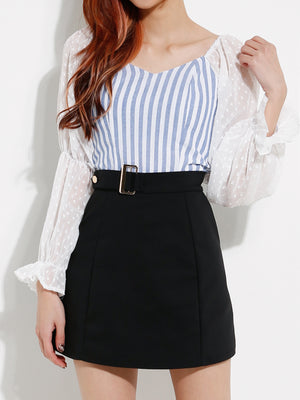 Stripe Tops 12683