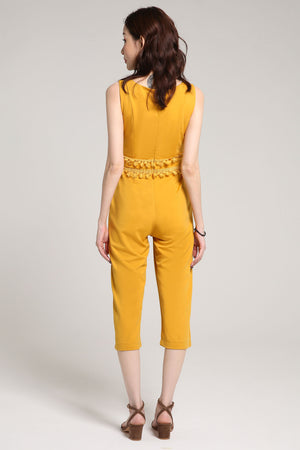 V-Neck Jumpsuit 1994 - ample-couture