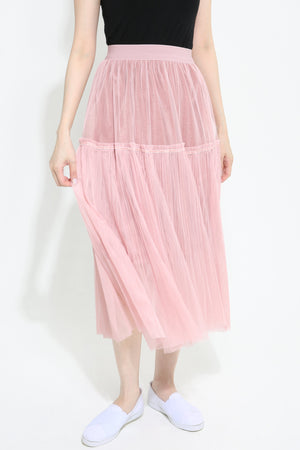 Maxi Pleated Skirt 0998