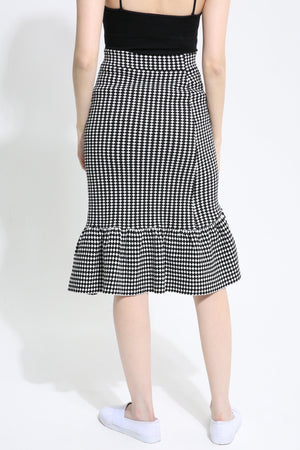 Checker Skirt 1019