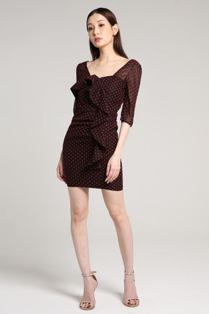 Polka Dot Puff Dress 2003 - ample-couture