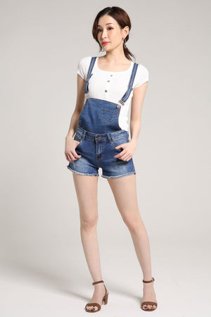 Denim Playsuit 2006 - ample-couture