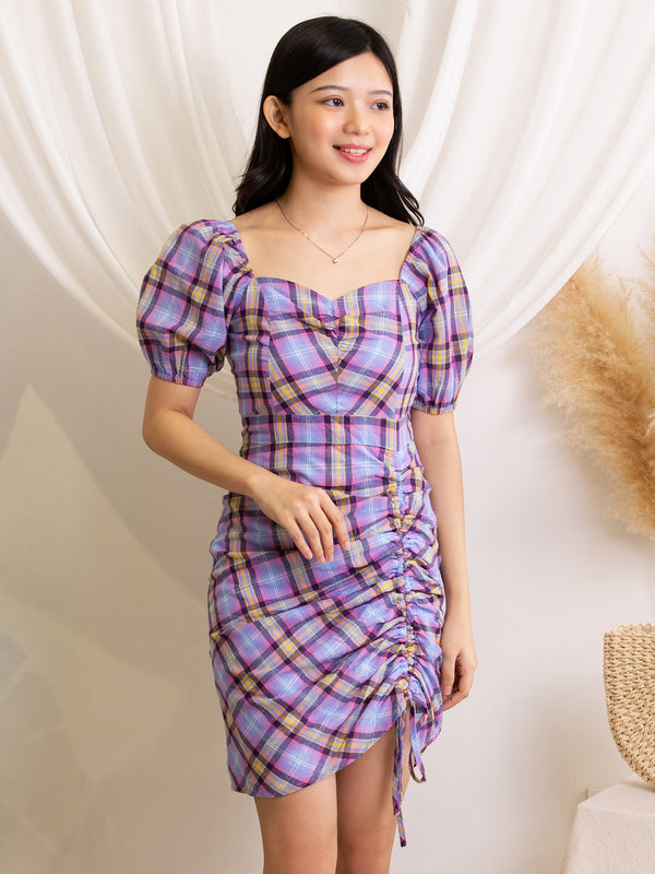 Checker Dress 12001