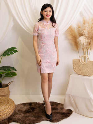 Flower Cheongsam Dress 11990