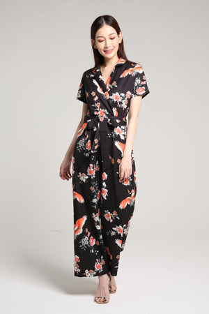 Flower Jumpsuit 2011 - ample-couture