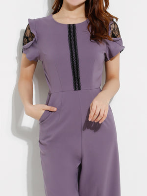 Cut Off Jumpsuits 12704