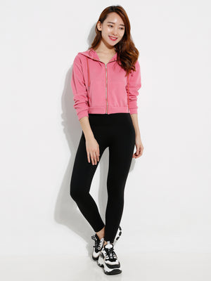 Front Zip Knit Jacket 12712