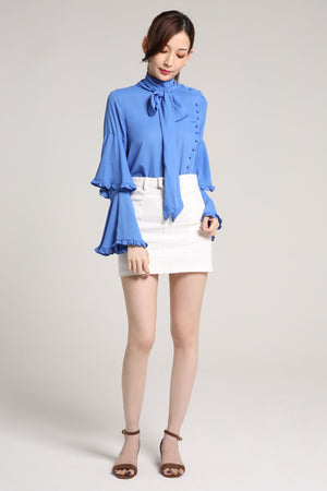 Button Blouse Top 2013 - ample-couture