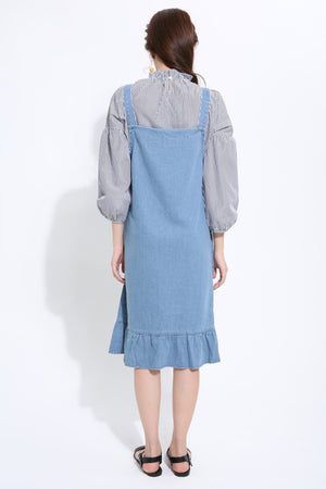 Denim Dress with Top Set 1482