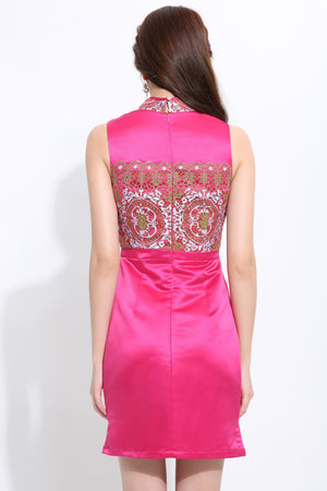 Back Button Cheongsam 1473 - ample-couture